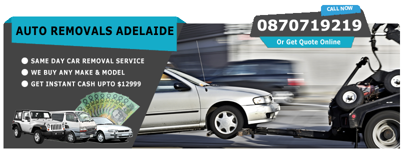 Auto Removals Adelaide
