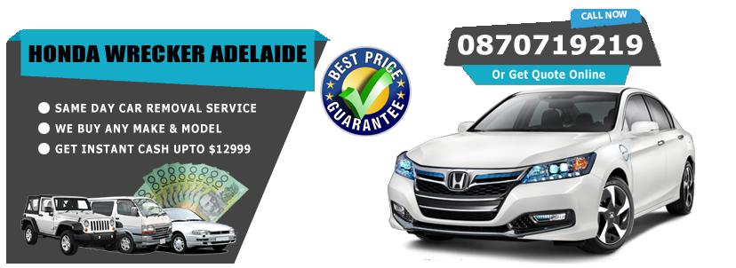 Honda Wrecker Adelaide